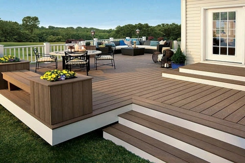 Deck Embarrassed Cool Idea For Your Outdoor Area