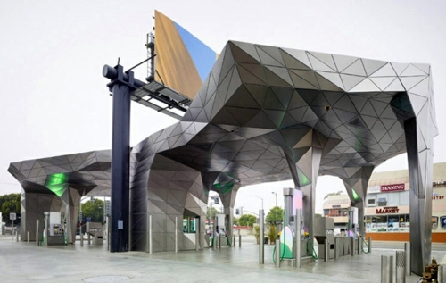 Los Angeles, USA 15 spectacular building designs, where origami meets  modern architecture