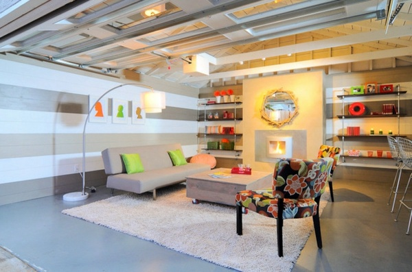 Garage Conversion Garage Converted To Living Space   Create Cozy Atmosphere