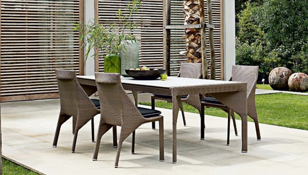 ... 21 Poly Rattan Garden Furniture Suitable For Your Garden, Patio Or  Balcony From Roche Bobois