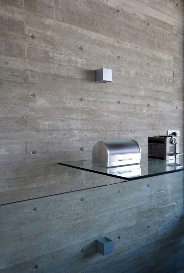 Wall color with concrete look – walls made of concrete | Interior ...