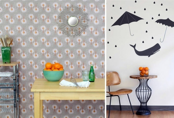Fancy Wallpaper For Your Chic Wall Decoration Interior Design - Unusual wallpaper for walls