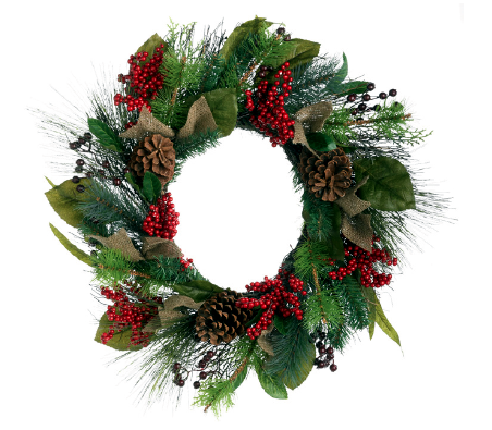 10 Christmas Wreaths Interior Design Ideas AVSOORG