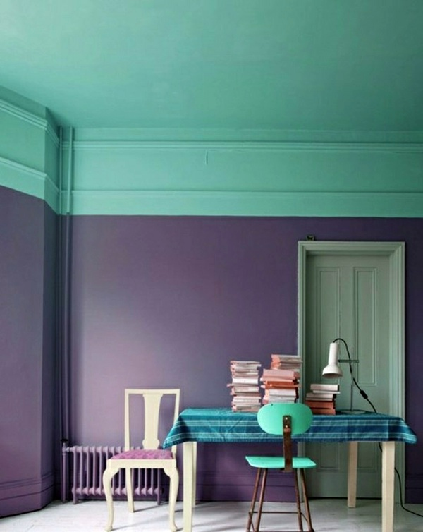 Lila Goes Green Colorful Wall Color To Choose For Your Own Personal Project