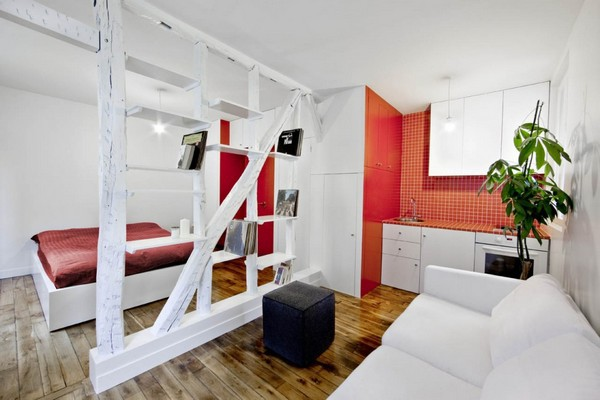 Cool little Apartments - Designer proposals for modern interiors Exposure  This apartment of 25 square meters ...