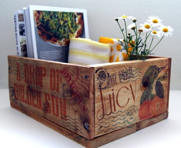 DIY Wooden Box And Storage From Euro Pallets