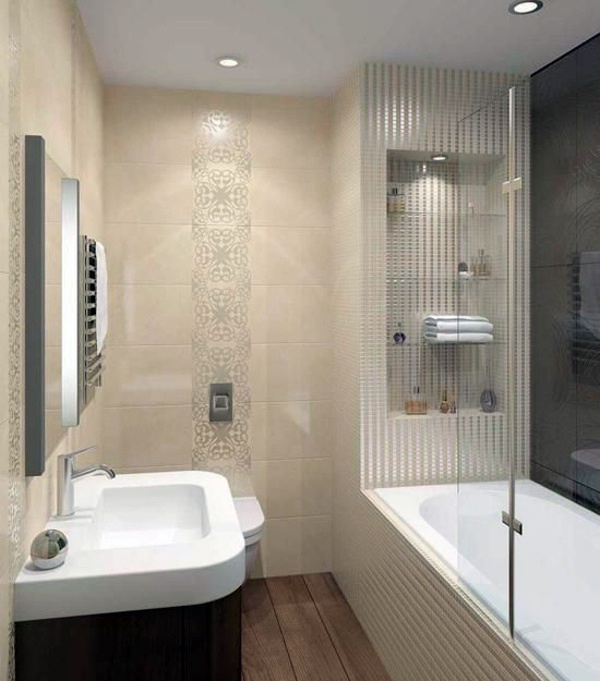 Small bathroom set take the challenge interior design for Small 3 piece bathroom ideas