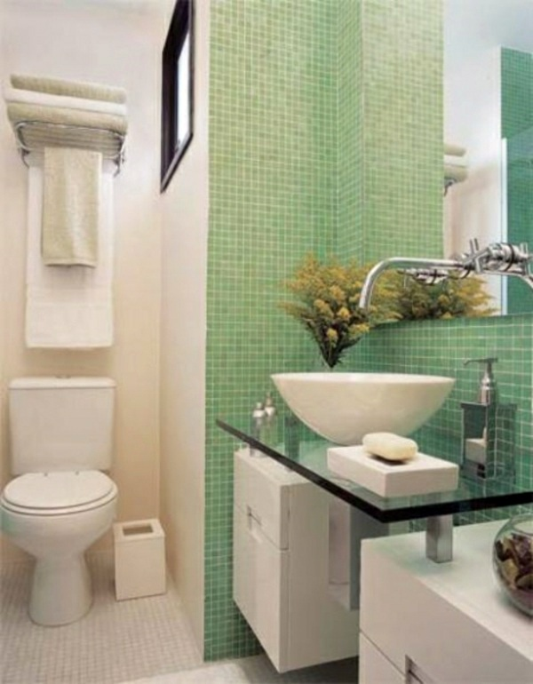 Small bathroom set take the challenge interior design for Bathroom designs normal