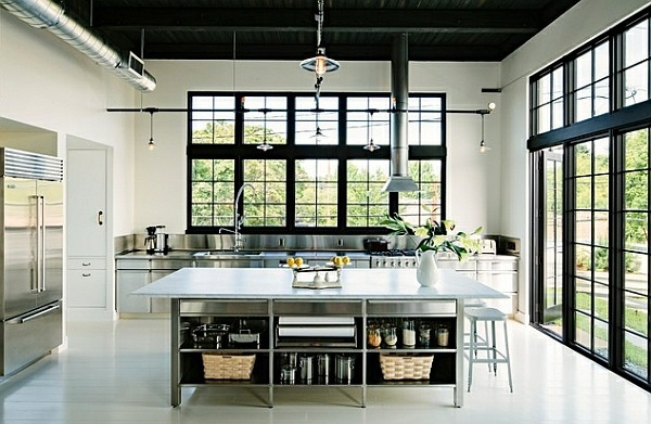 Brilliant Industrial Approach 50 Ideas For Kitchen Equipment And Furniture With A Modern Character