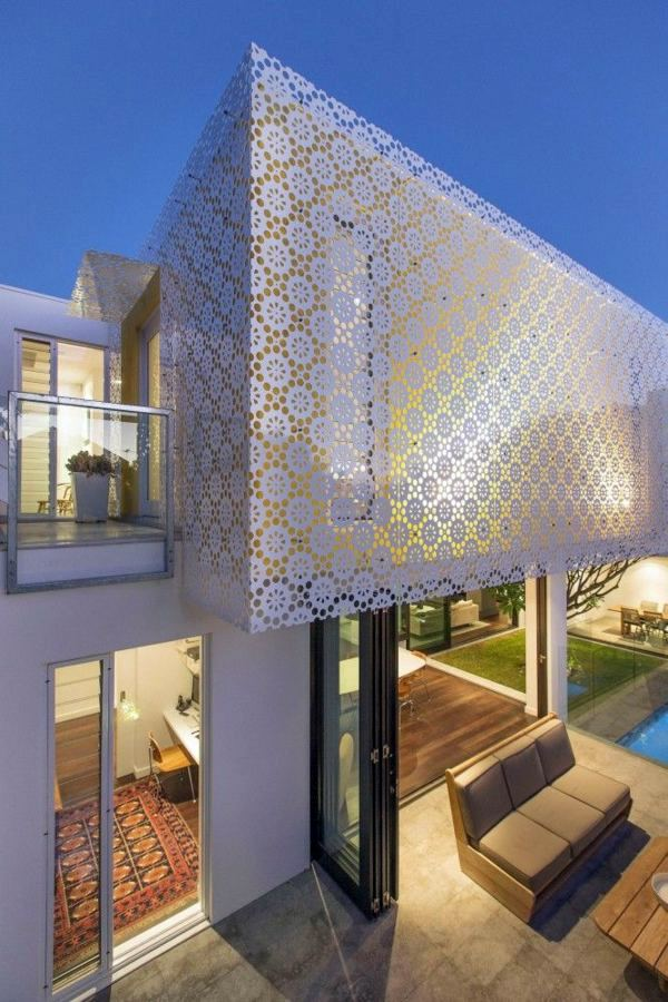 Modern Facade Cladding For An Impressive House Character