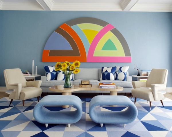 Attractive Color Palette In Interior Design   Become An Expert  Colorblocking!