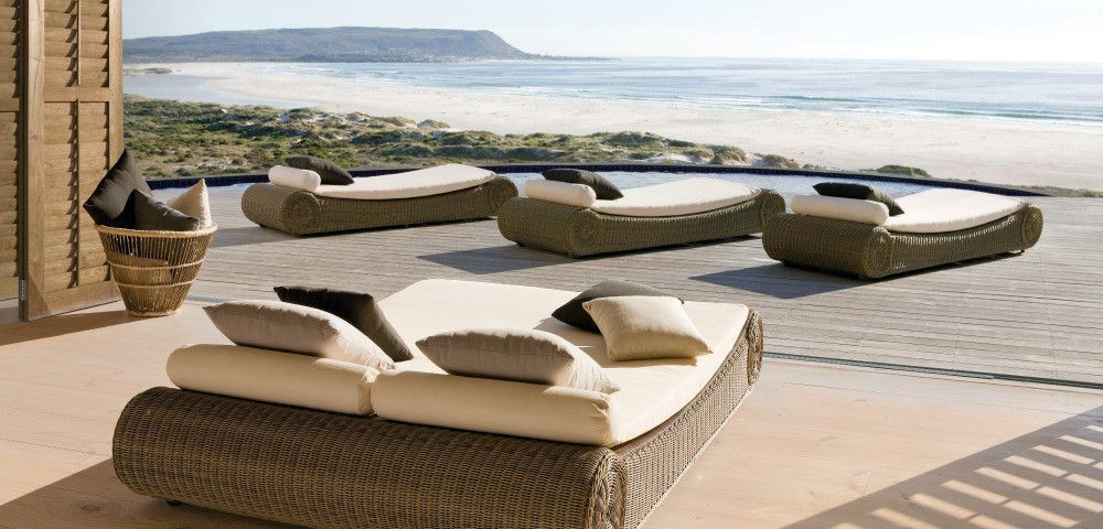 stylish outdoor furniture. Stylish Exterior Design - Woven Outdoor Furniture By Manutti R