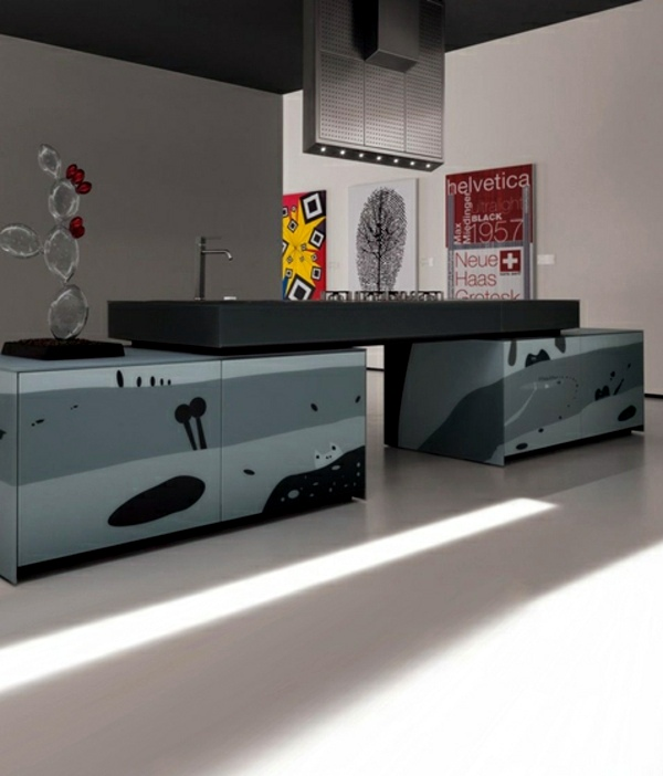 Creative Kitchen Design By Valcucine