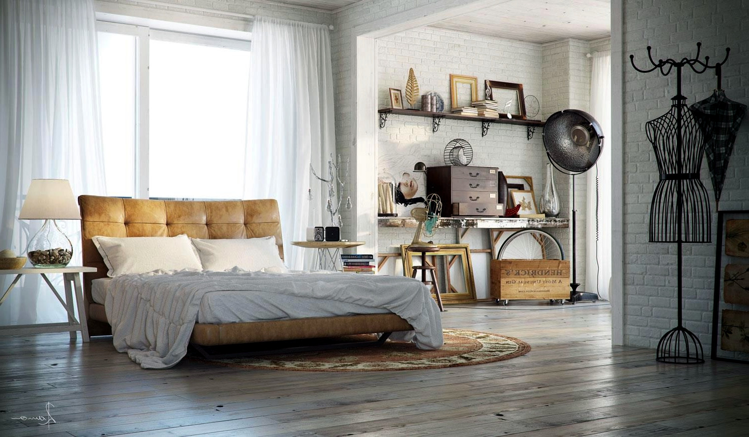 Superieur ... Industrial Bedrooms With Divine Detail ...