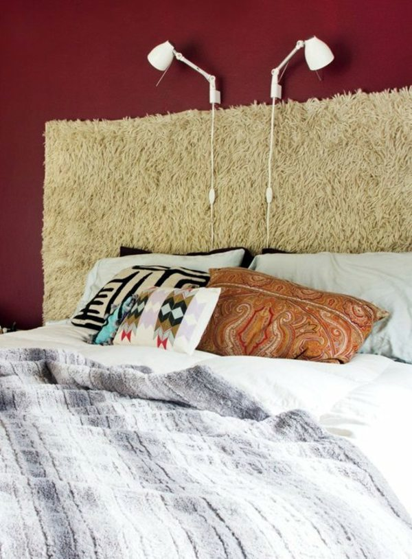 DIY   Do It Yourself   12 Unusual Ideas For DIY Headboard