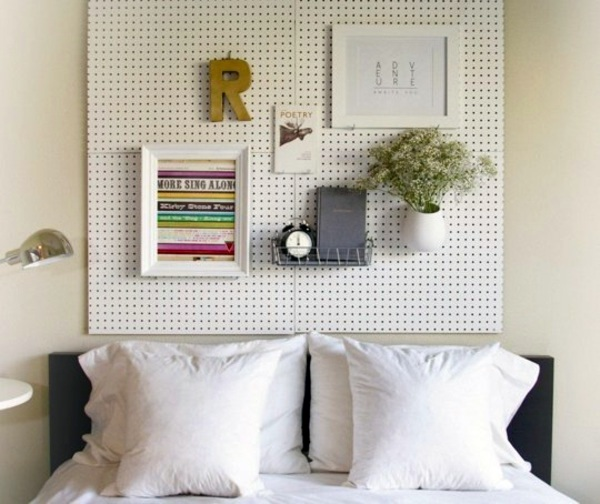 Kopfteil   12 Unusual Ideas For DIY Headboard