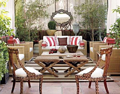 20 decorating ideas for elegant rooftop terrace in the for Terrace decoration ideas