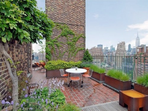 20 Decorating Ideas For Elegant Rooftop Terrace In The