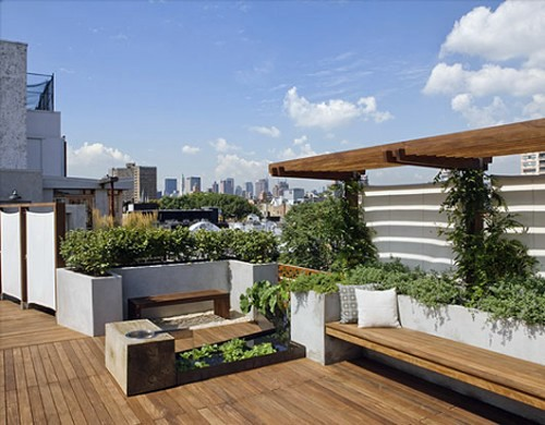 20 Decorating Ideas For Elegant Rooftop Terrace In The City