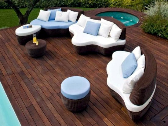 With Contemporary Outdoor Furniture Besides Outdoor Modern Furniture