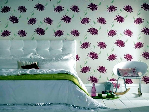 Wall Design With Wallpaper | Interior Design Ideas | Avso.Org