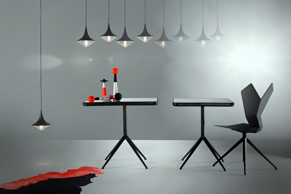 contemporary pendant lights by tom dixon interior design. Black Bedroom Furniture Sets. Home Design Ideas