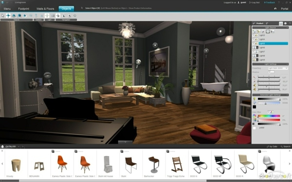 Living room planner free some of the best 3d room for Interior design computer programs free