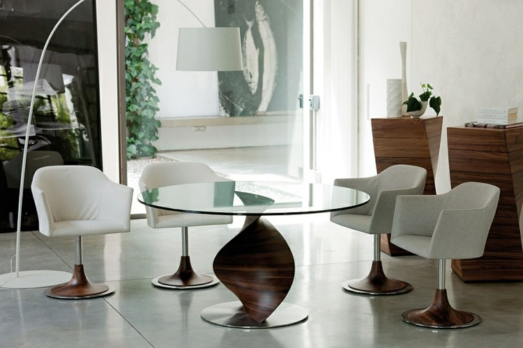 Designer Dining Tables You Give your dining room a special charm