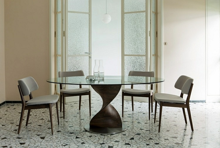Great Tables By Porada Designer Dining Tables   You Give Your Dining Room A  Special Charm