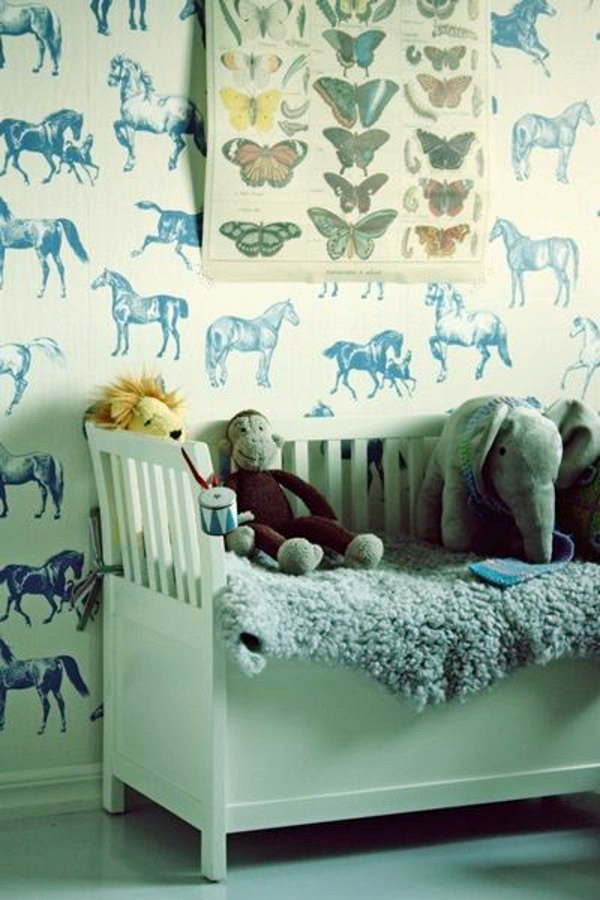 Kinderzimmer   Nursery Wallpaper   Color Ideas For Your Interior