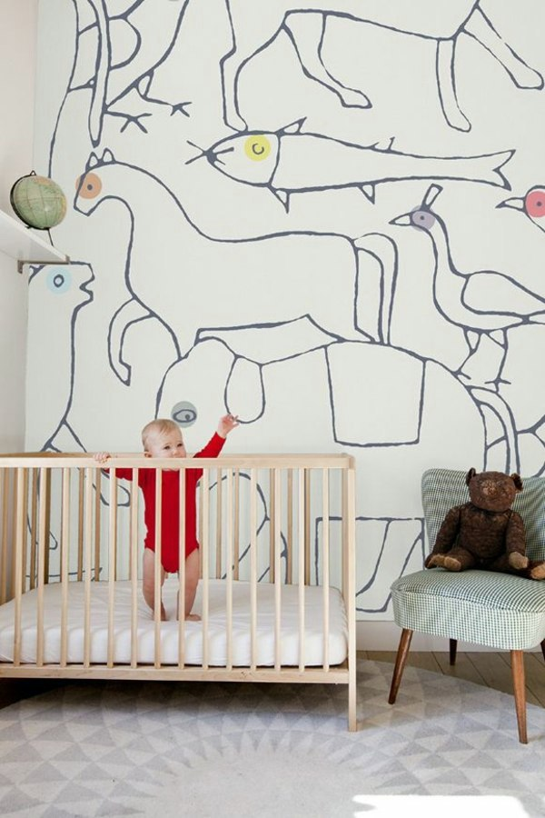 Nursery wallpaper color ideas for your interior Wallpaper for childrens room