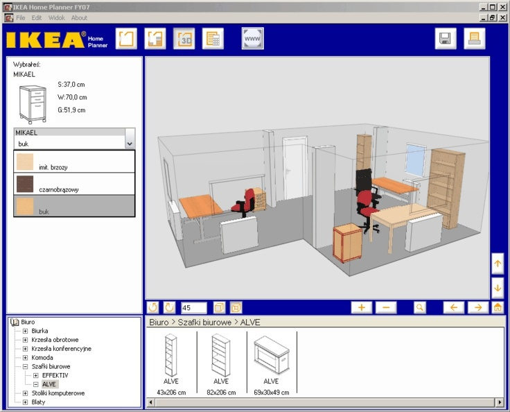 Room planner ikea prepare your home like a pro for Office design tool