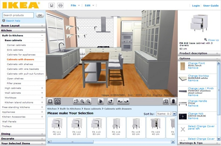 Kitchen Design Room Planner