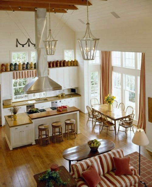 Interior Design Country Style Set Setting Cozy Kitchen In Country Style  Interior Design Ideas .