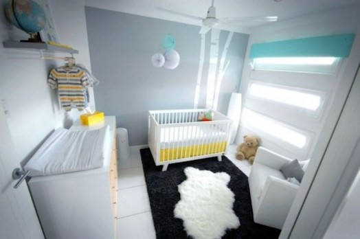 gorgeous, modern nursery interior for your baby | interior design ... - Kinderzimmer Modern Design