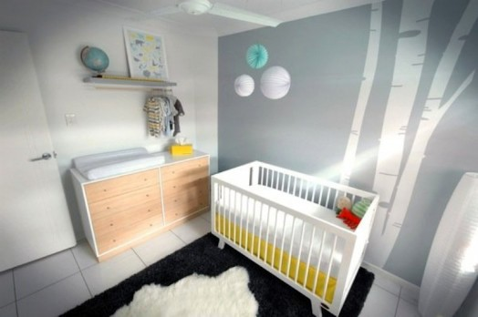 Modern Nursery Interior For Your Baby