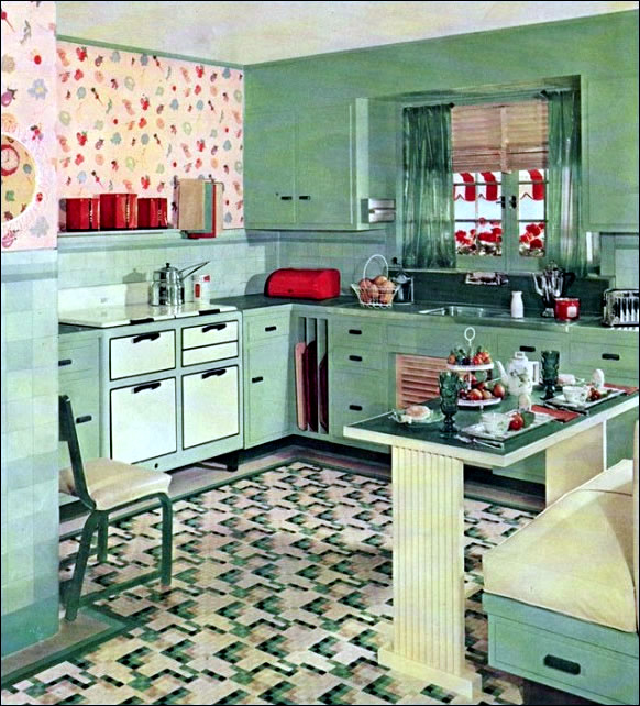 Antiq Kitchen Set Design Ideas ~ Retro kitchen design sets and ideas interior