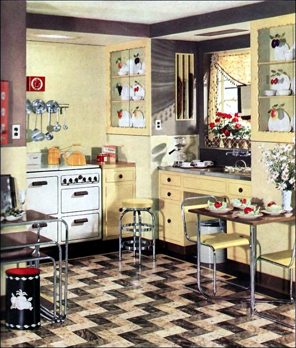 Wonderful Retro Kitchen Ideas Concept