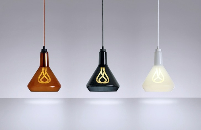 A Silhouette Color Designer Lamps With Energy Saving Light Bulbs From Hulger