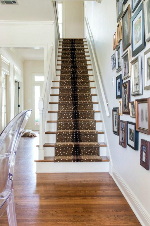 Fabulous staircase rugs bring color : Interior Design ...