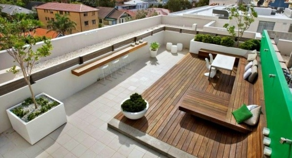 Roof terrace design ideas examples and important aspects for Terrace 6 indore