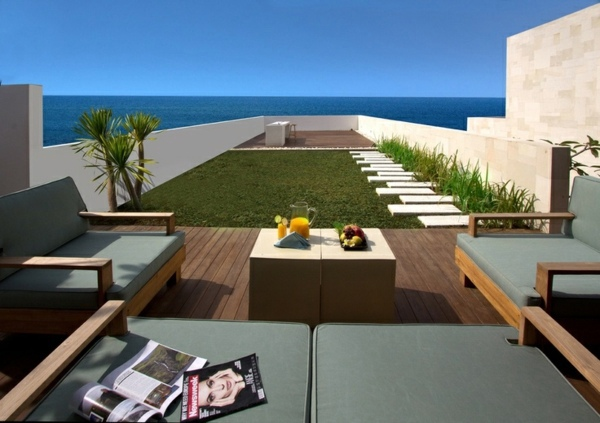 Roof terrace design ideas examples and important aspects for Terrace design