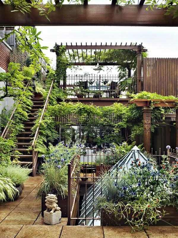 Manhattan Rooftop Garden