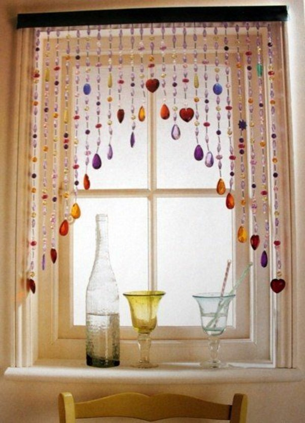 Garlands   Curtain 30 Curtains Decoration Examples   Dress Up The Windows  Creative
