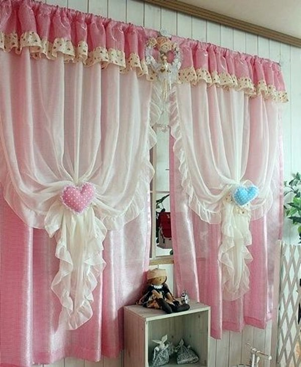 30 Curtains Decoration Examples – dress up the windows creative ...