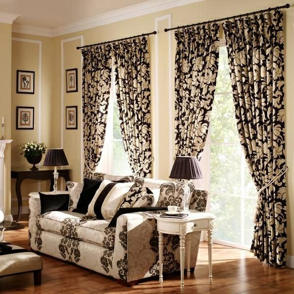 30 Curtains Decoration Examples u2013 dress up the windows creative : Interior Design Ideas : AVSO.ORG
