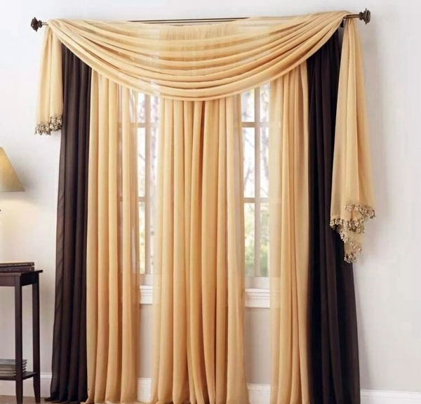 30 Curtains Decoration Examples Dress Up The Windows
