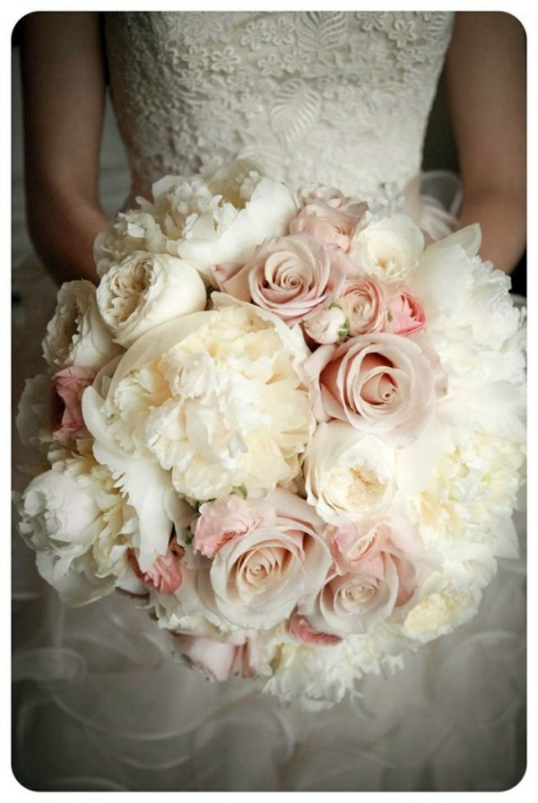 Cute Delicate Roses Wedding Flowers Bridal Bouquets Pictures Cool