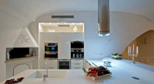 Practical Kitchen Designs 12 practical ideas for kitchens design with built-in barbecue