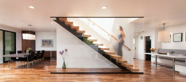 modern wood stairs move relax interior design ideas. Black Bedroom Furniture Sets. Home Design Ideas